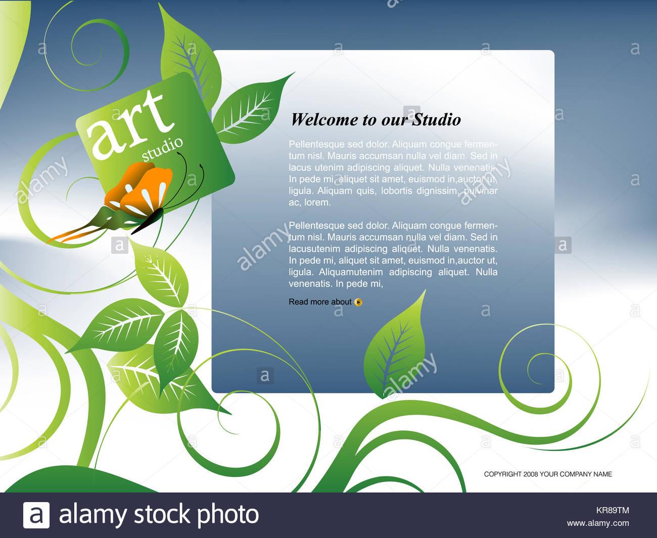 Wunderbar Websitevorlage Bearbeiten Galerie - Beispiel Business ...