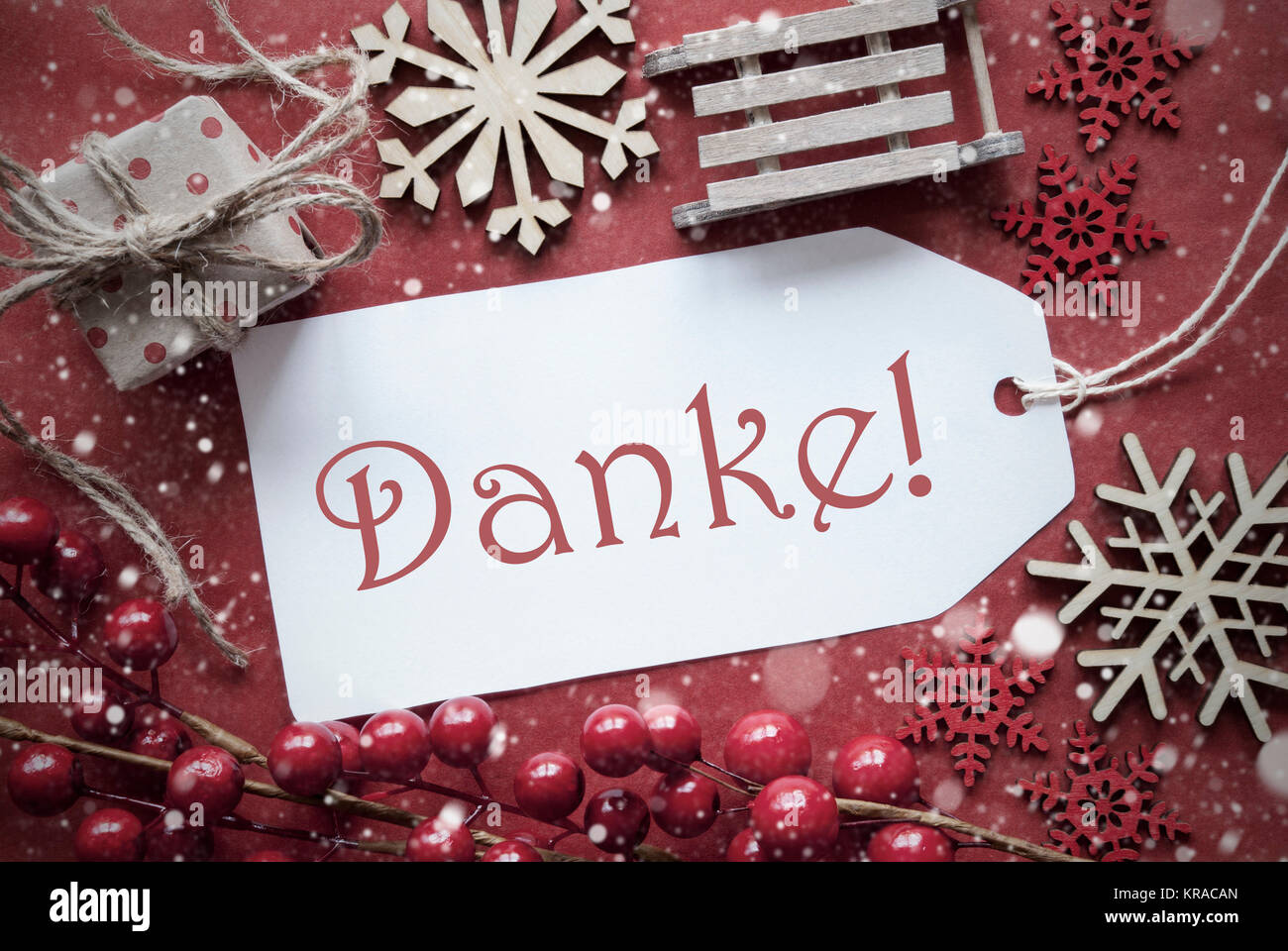 Nostalgische Weihnachten Dekoration wie Geschenk oder Präsent ...
