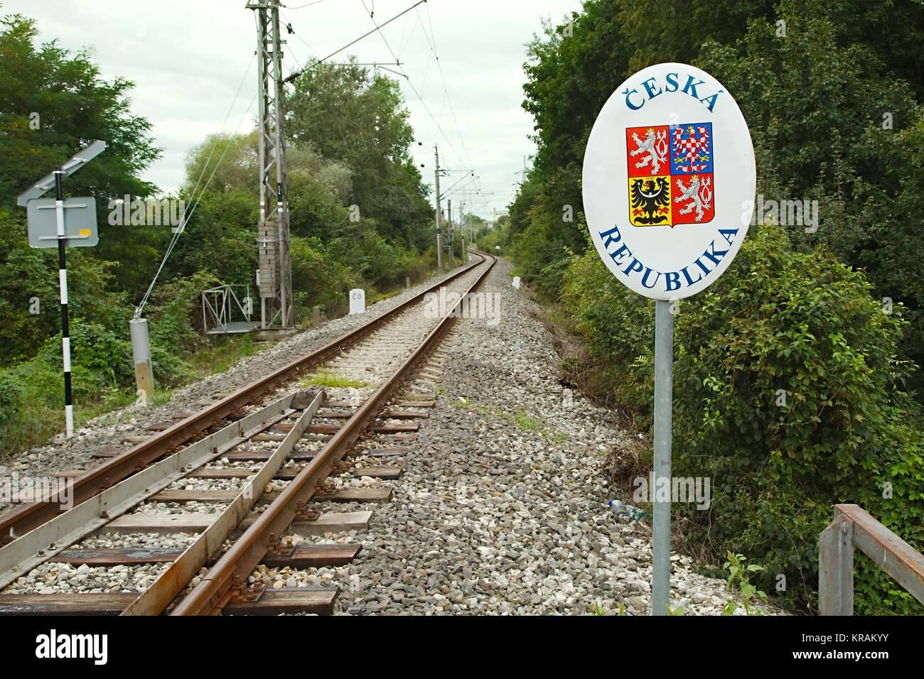 Tschechien Markt Grenze