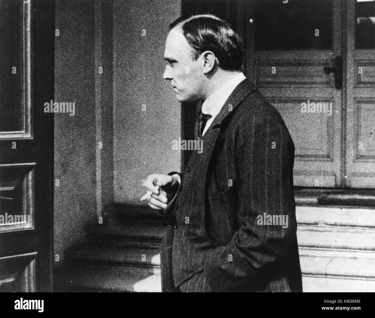 Tereschenko Michail Iwanowitsch, russischer Politiker und Finanzier, hier im August 1917 gesehen. In diesem JahrStockfoto