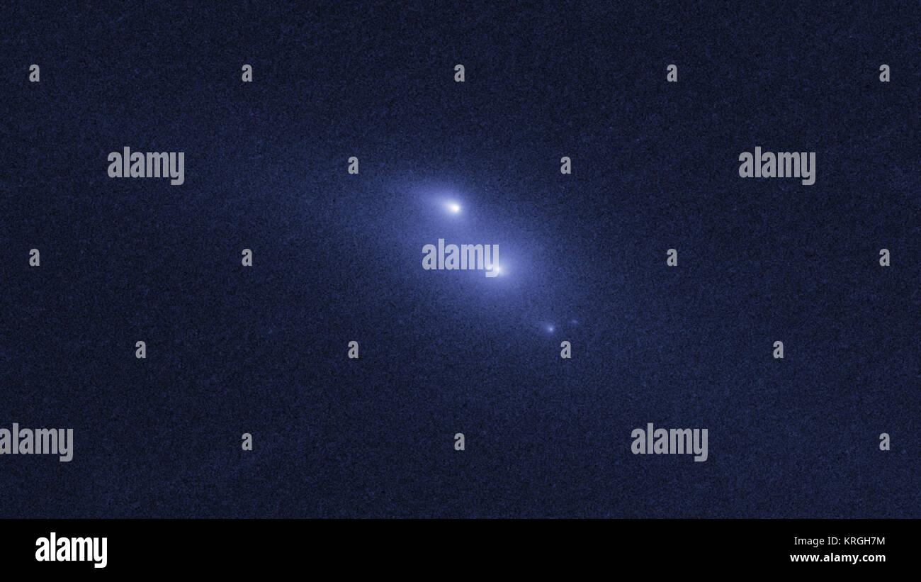 Hubble Zeugen ein Asteroid auf mysteriöse Weise zerfallen (12972515933) Stockbild