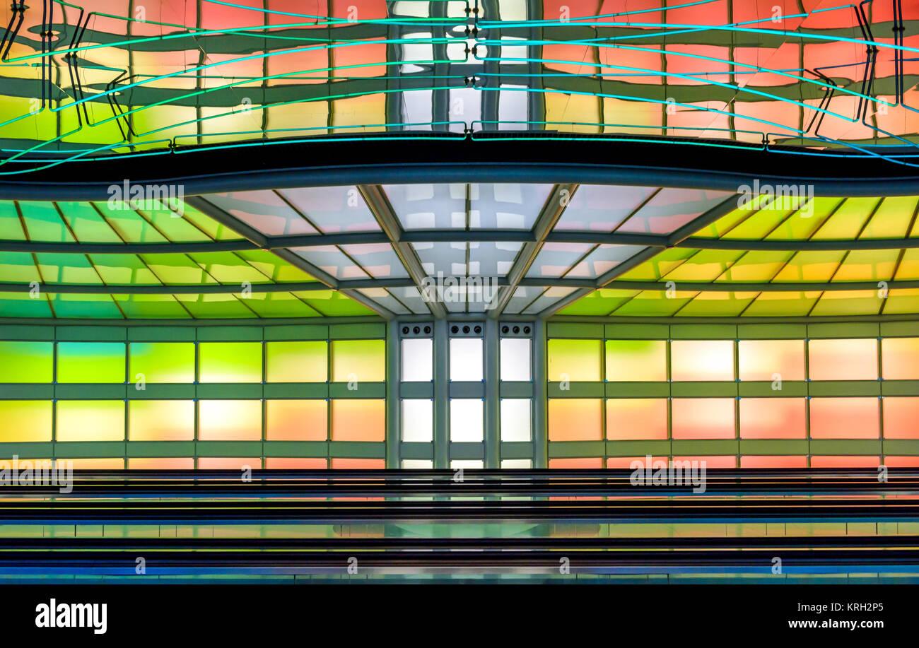 Chicago Flughafen Stockbild