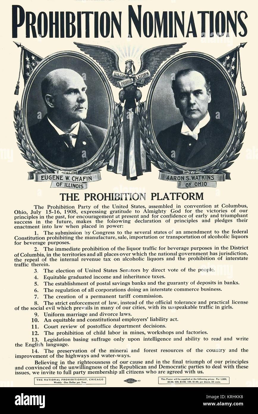 Verbot Nominierungen Stockbild