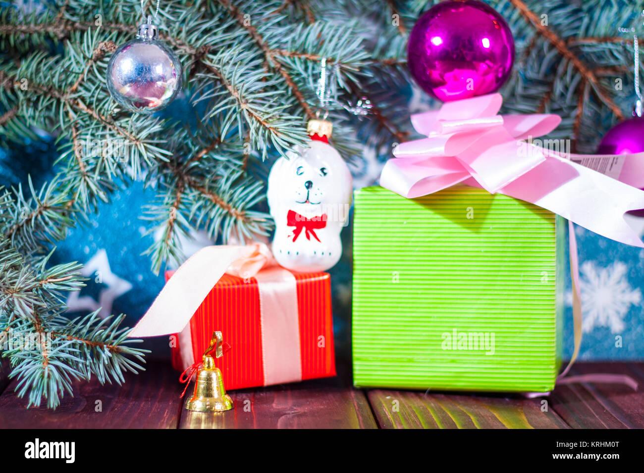 Weihnachtskarte Hintergrund Santa Claus und Snow Maiden russische ...