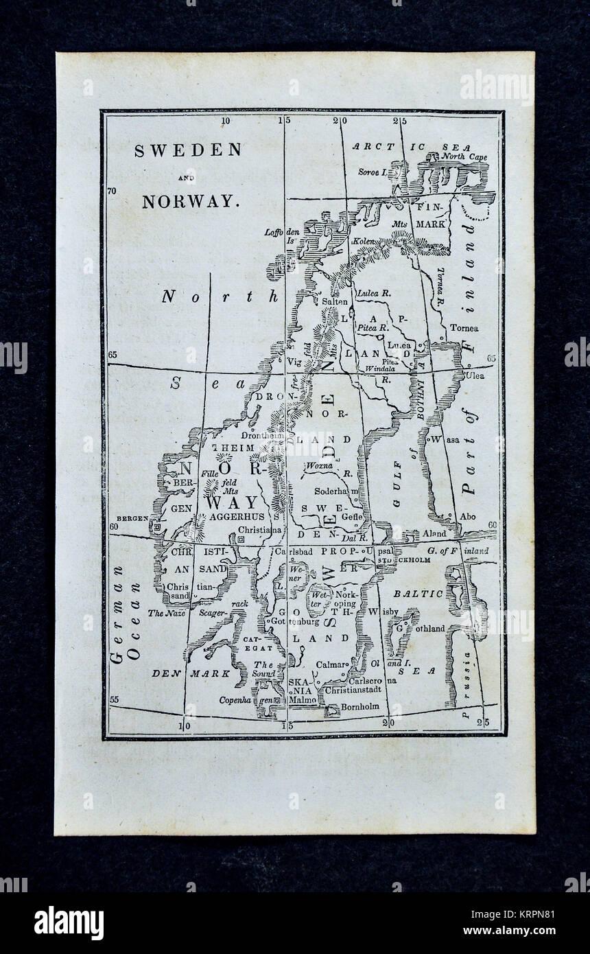 Stockholm Map Stockfotos & Stockholm Map Bilder - Alamy on