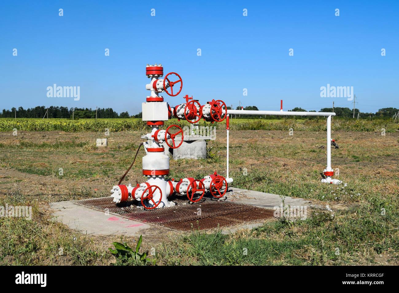 Auch Für Die Produktion Von Öl Und Gas. Öl Gut