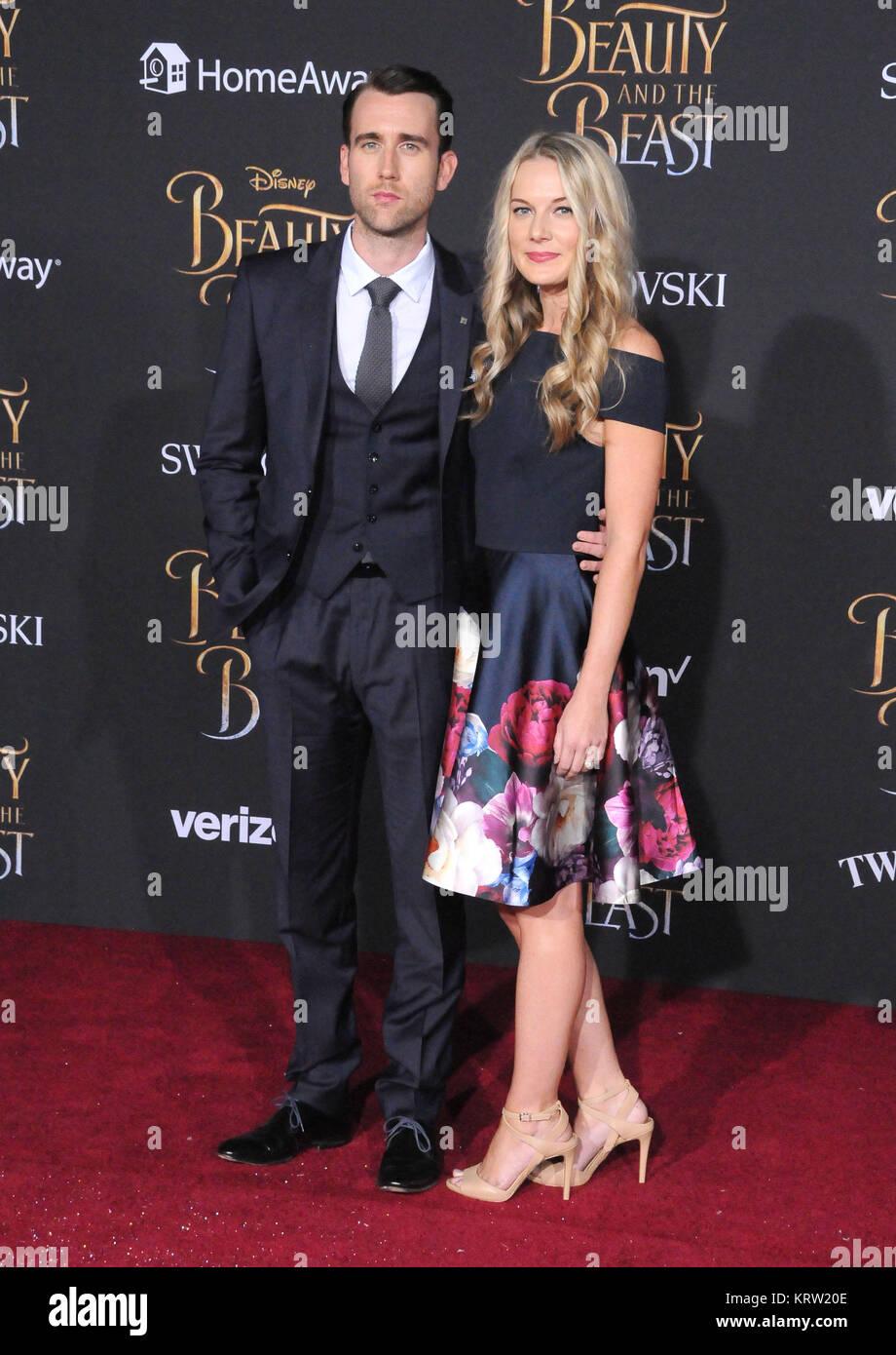 Hollywood Ca 2 März L R Schauspieler Matthew Lewis Und Angela