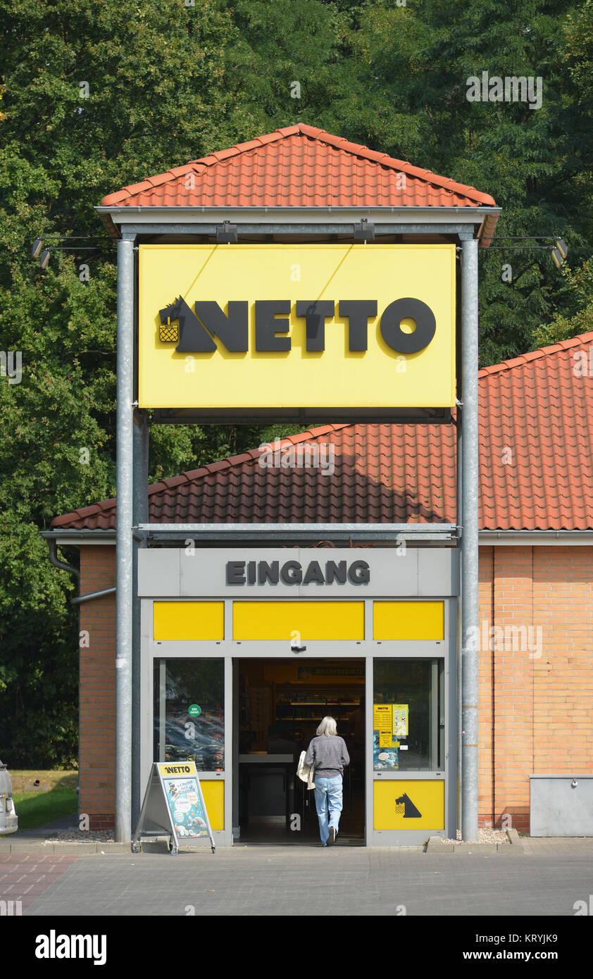 Net , Markt , Berlin, Deutschland, Netto, Markt, Deutschland ...