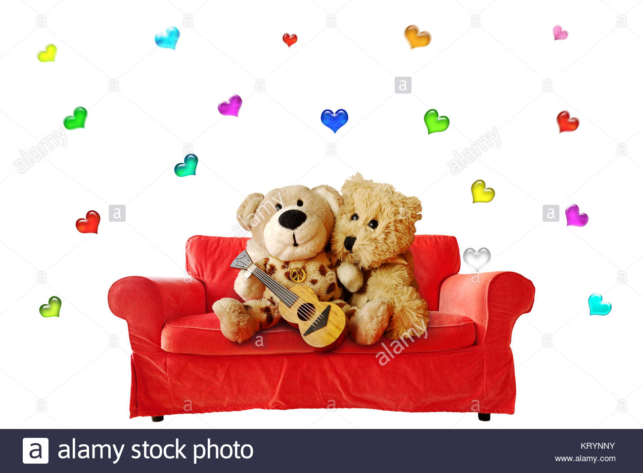 Cute couple cuddling in sofa stockfotos cute couple for Sofa kuscheln