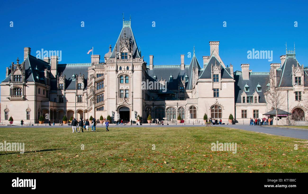 Biltmore House Asheville North Carolina North America Usa