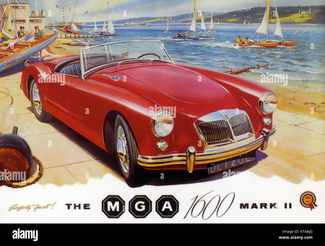 MGA 1600 Mk II Anzeige etwa 1960 Stockbild