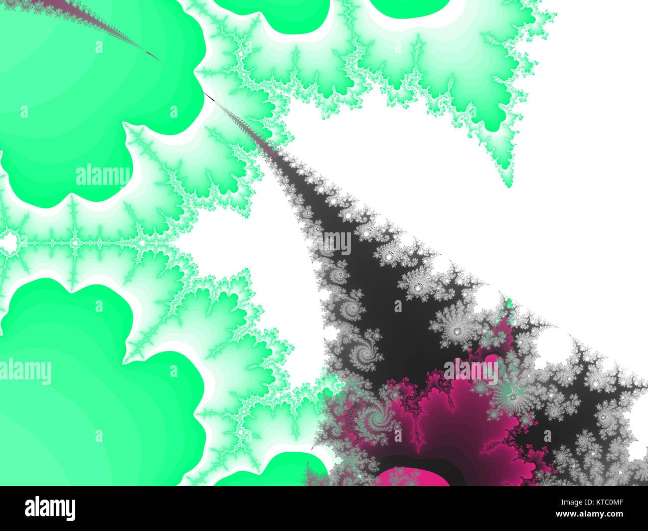 abstrakte Fraktal-Hintergrund Stockbild