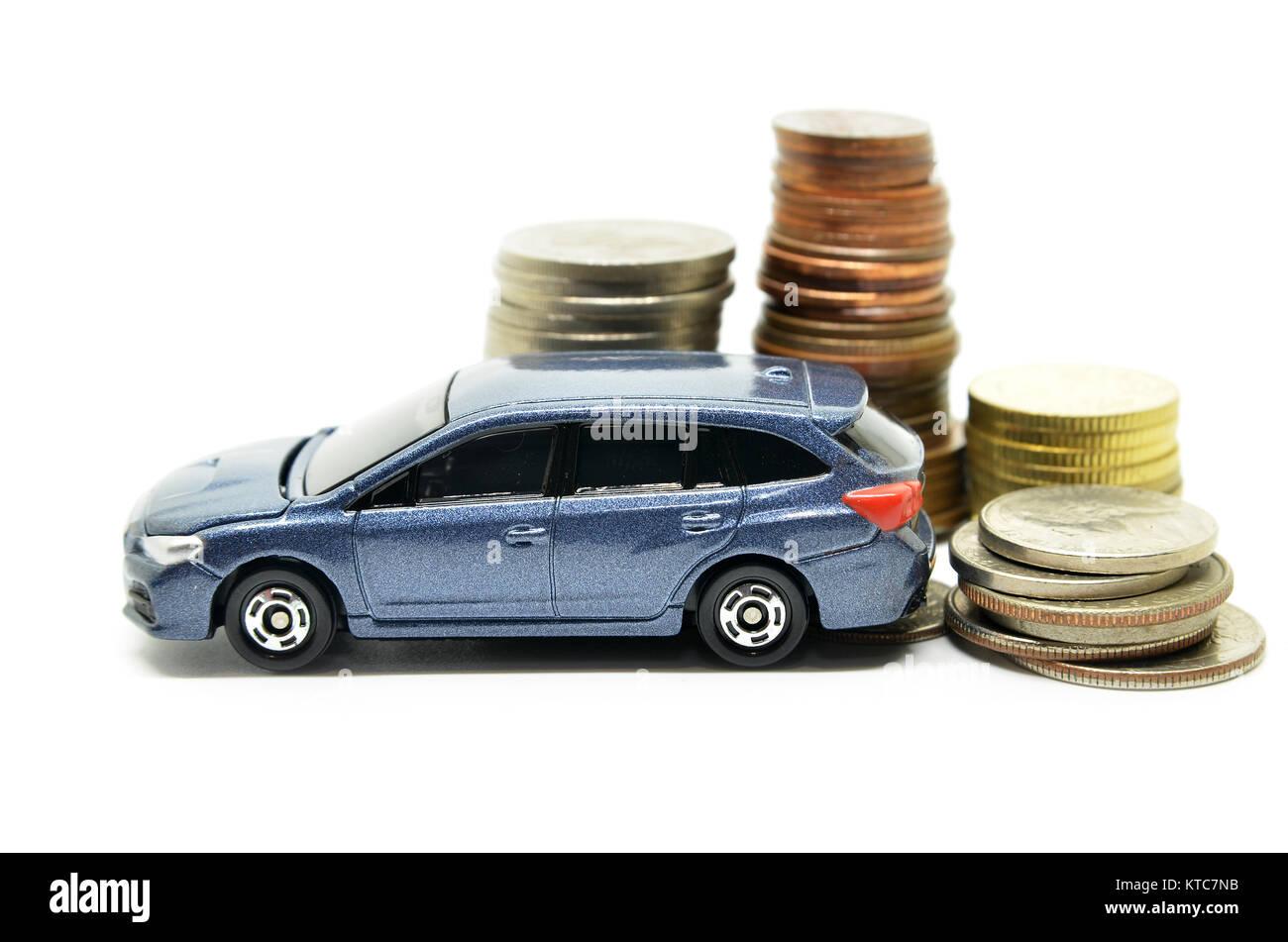 auto finanzieren mit geld stapel stockfoto bild. Black Bedroom Furniture Sets. Home Design Ideas
