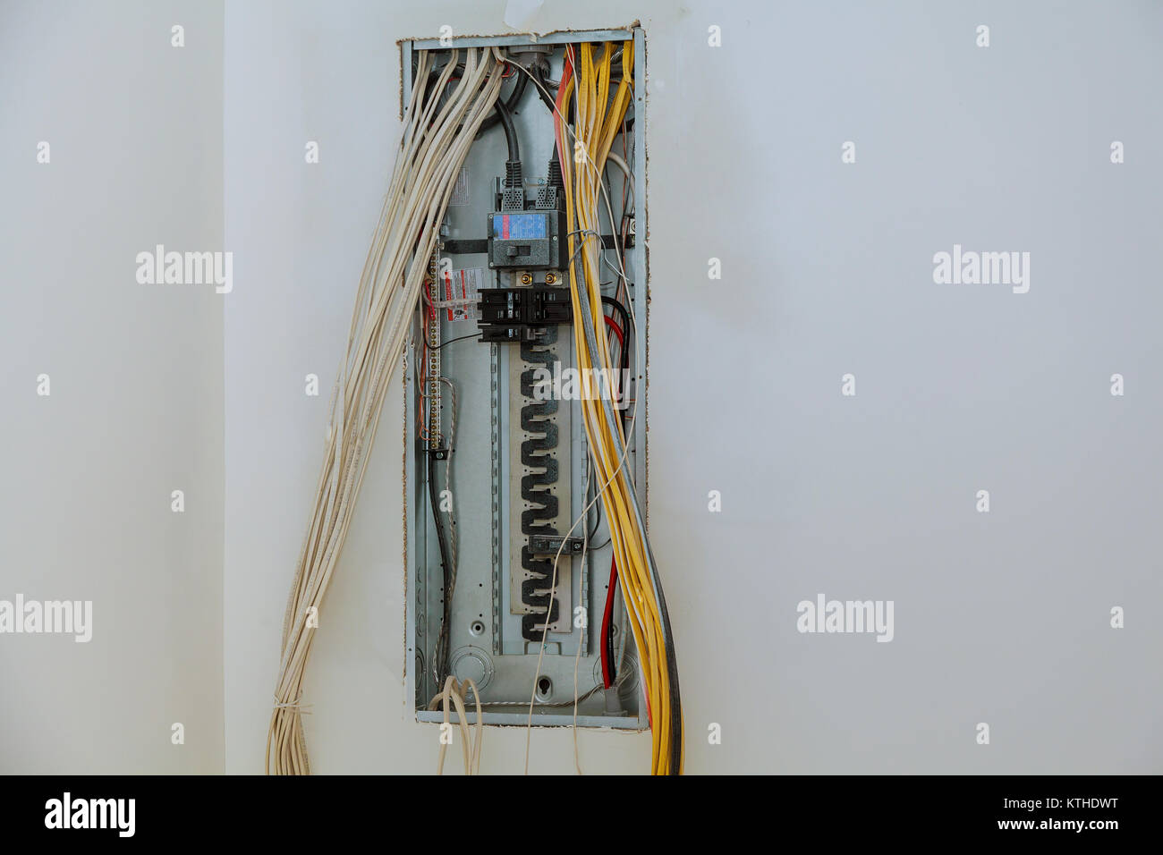 Switchboard Fuse Box Energy Power Stockfotos & Switchboard Fuse Box ...