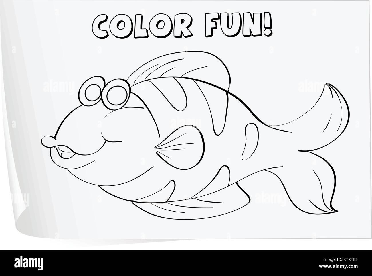 Tolle Fisch Färbung Spiele Fotos - Druckbare Malvorlagen - amaichi.info