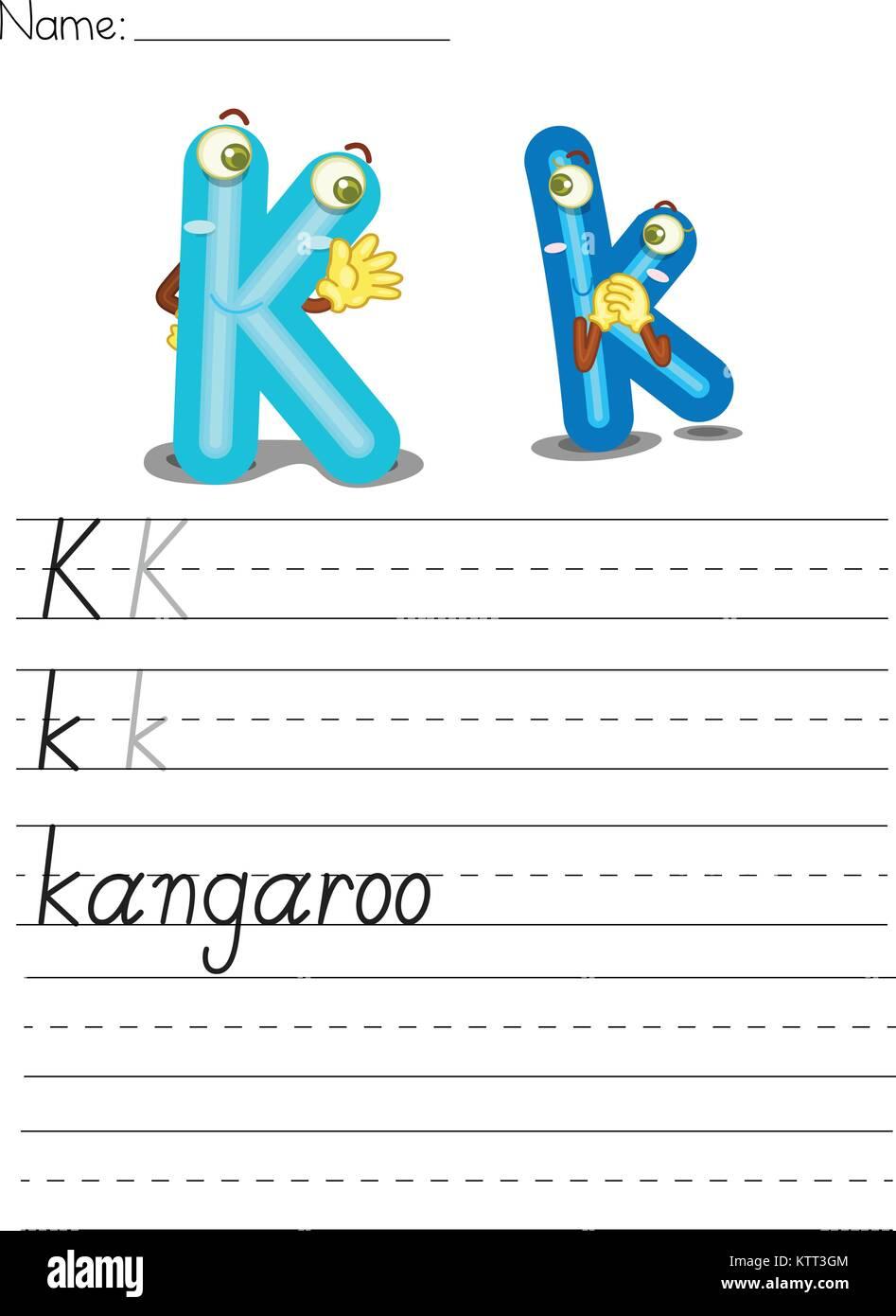 K Is For Kangaroo Stockfotos & K Is For Kangaroo Bilder - Alamy
