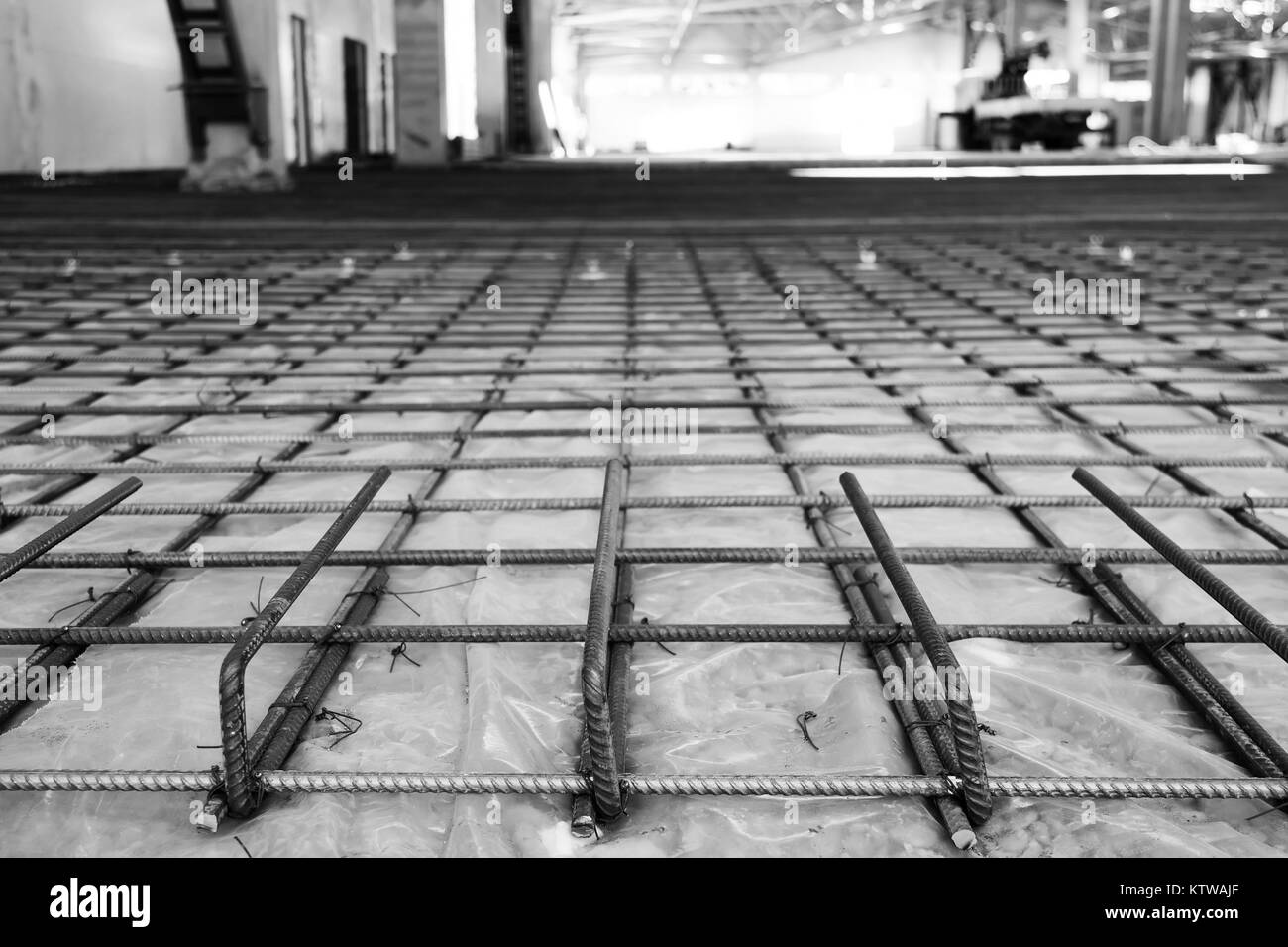 Reinforcement Steel Cage Stockfotos & Reinforcement Steel Cage ...