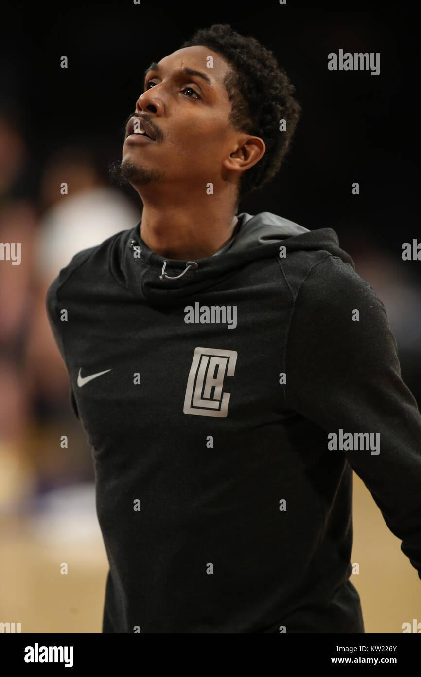 Los Angeles, CA, USA. 29 Dez, 2017. LA Clippers guard Lou Williams (23) vor der Los Angeles Clippers vs Los Angeles Stockfoto