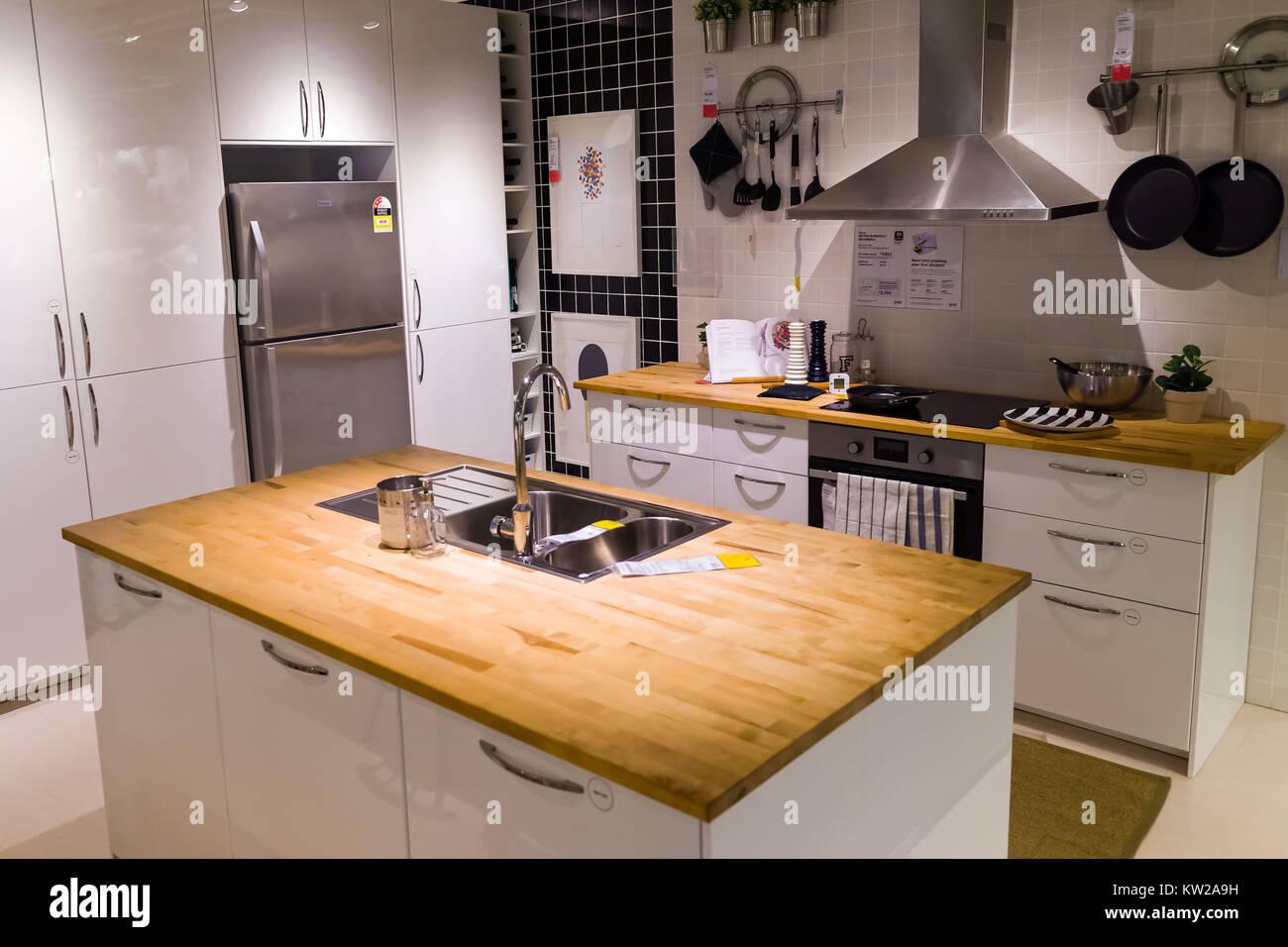 Modell Küche Bei Ikea Showroom In Tempe, Sydney, Austral