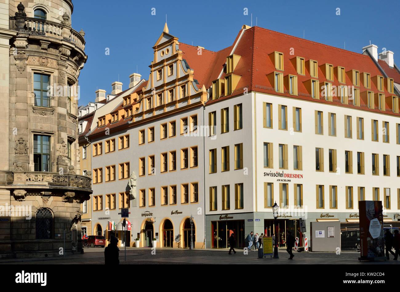 Dresden Swisshotel In Der Burg In Der Schlossstraße Swisshotel Am