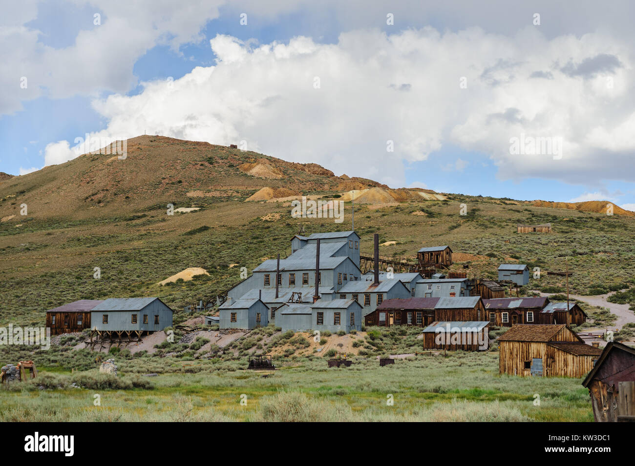 Bodie Stamp Mill Stockbild