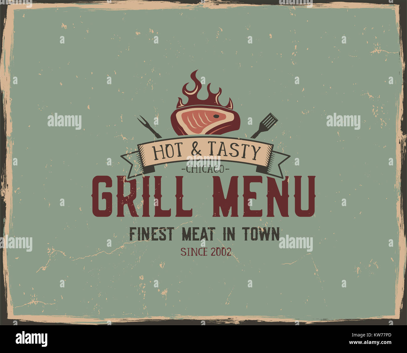 Fast Food Menu Design Template Stockfotos & Fast Food Menu Design ...