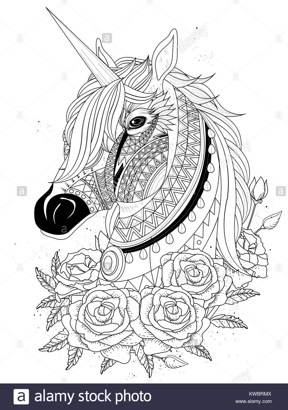 Unicorn Vector Stockfotos & Unicorn Vector Bilder - Alamy