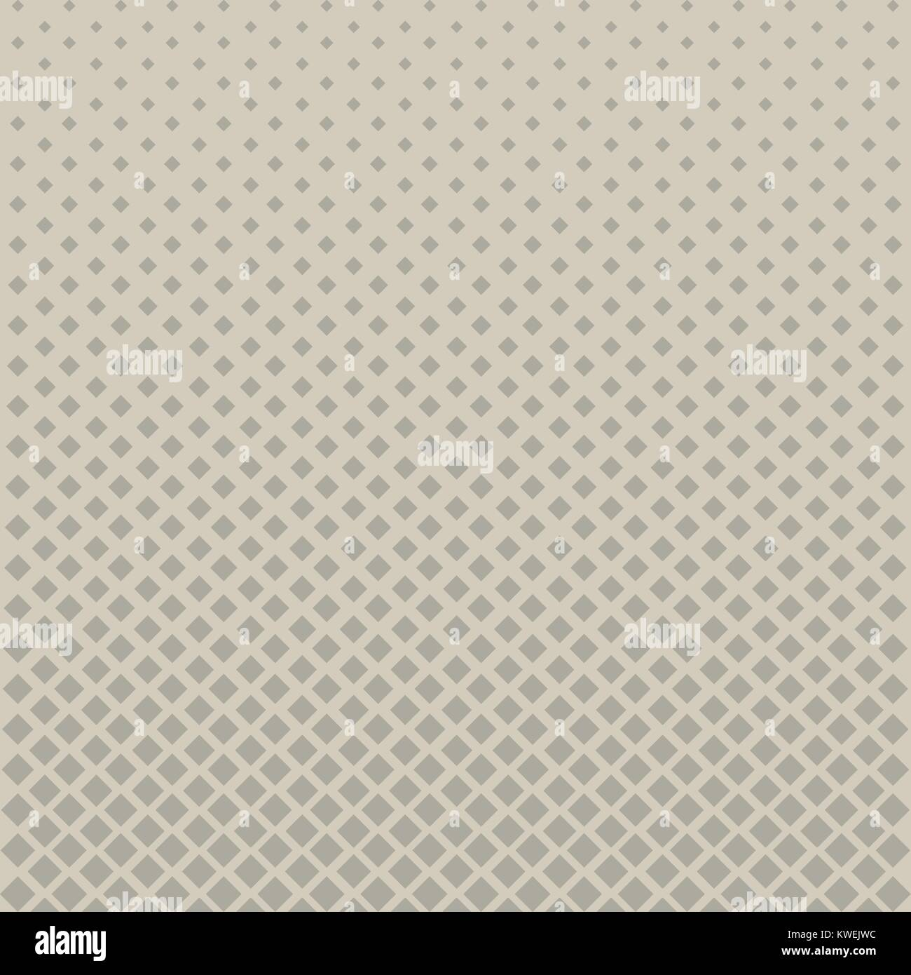 Abstrakte Halftone Graues Quadrat Muster Auf Braunem