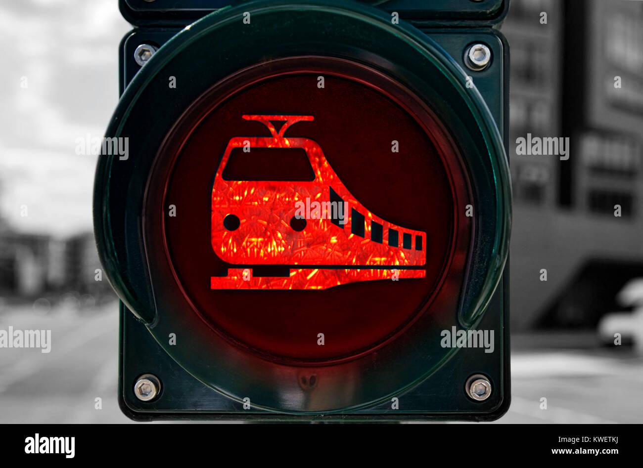 Roter Ampel Stockfotos Roter Ampel Bilder Alamy