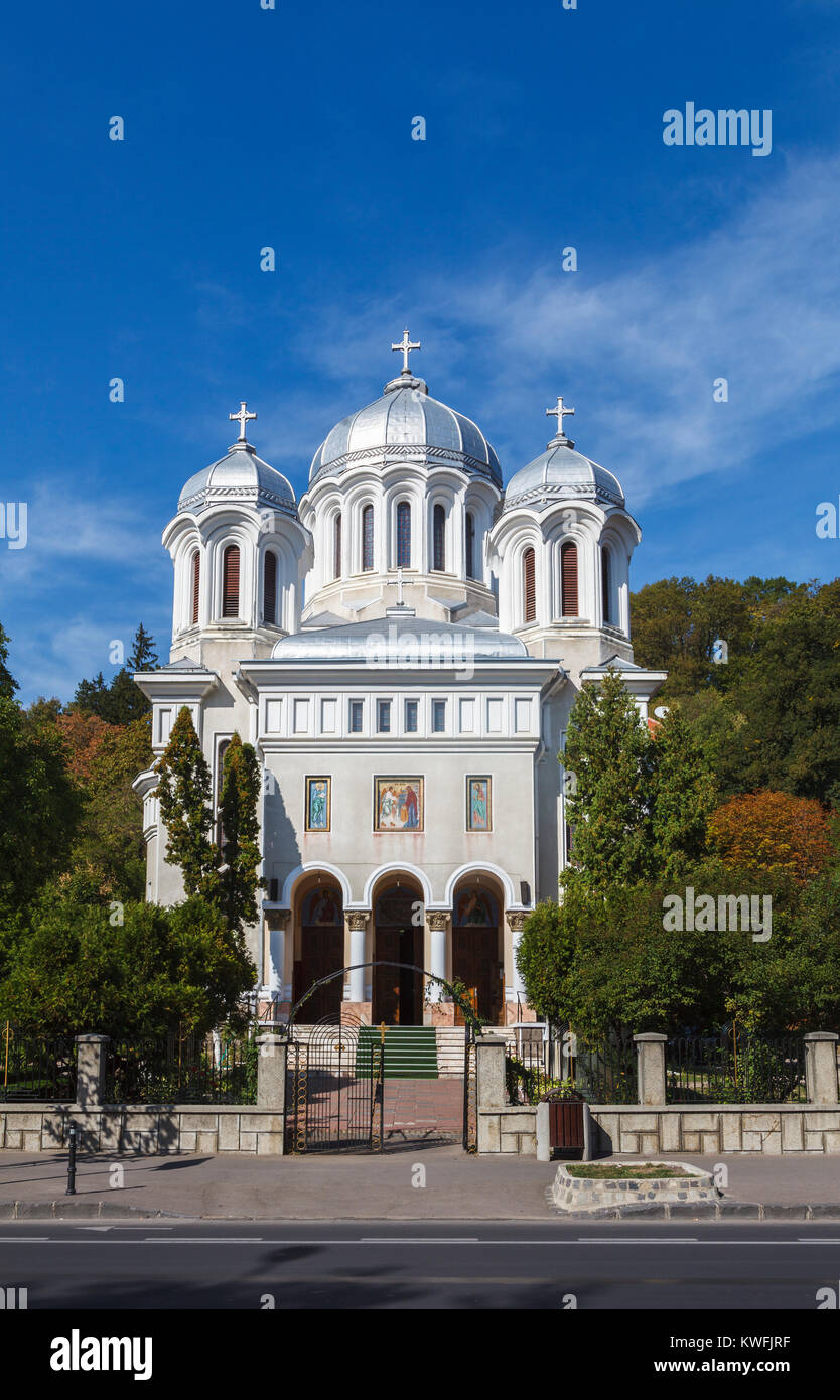 domes brasov orthodox church romania stockfotos domes. Black Bedroom Furniture Sets. Home Design Ideas