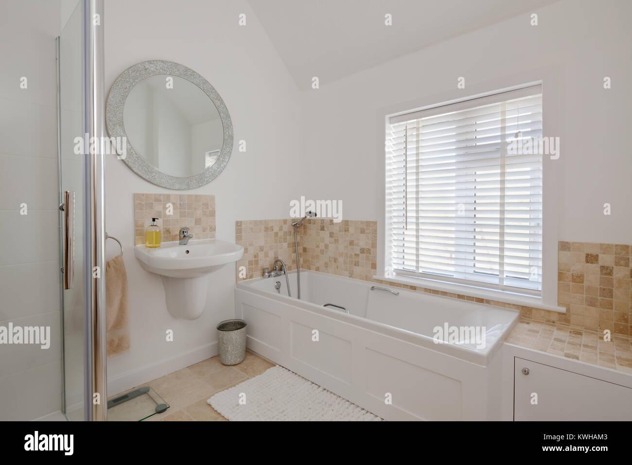 Helle Weiße Home Toilette Mit Waschbecken Kompakte