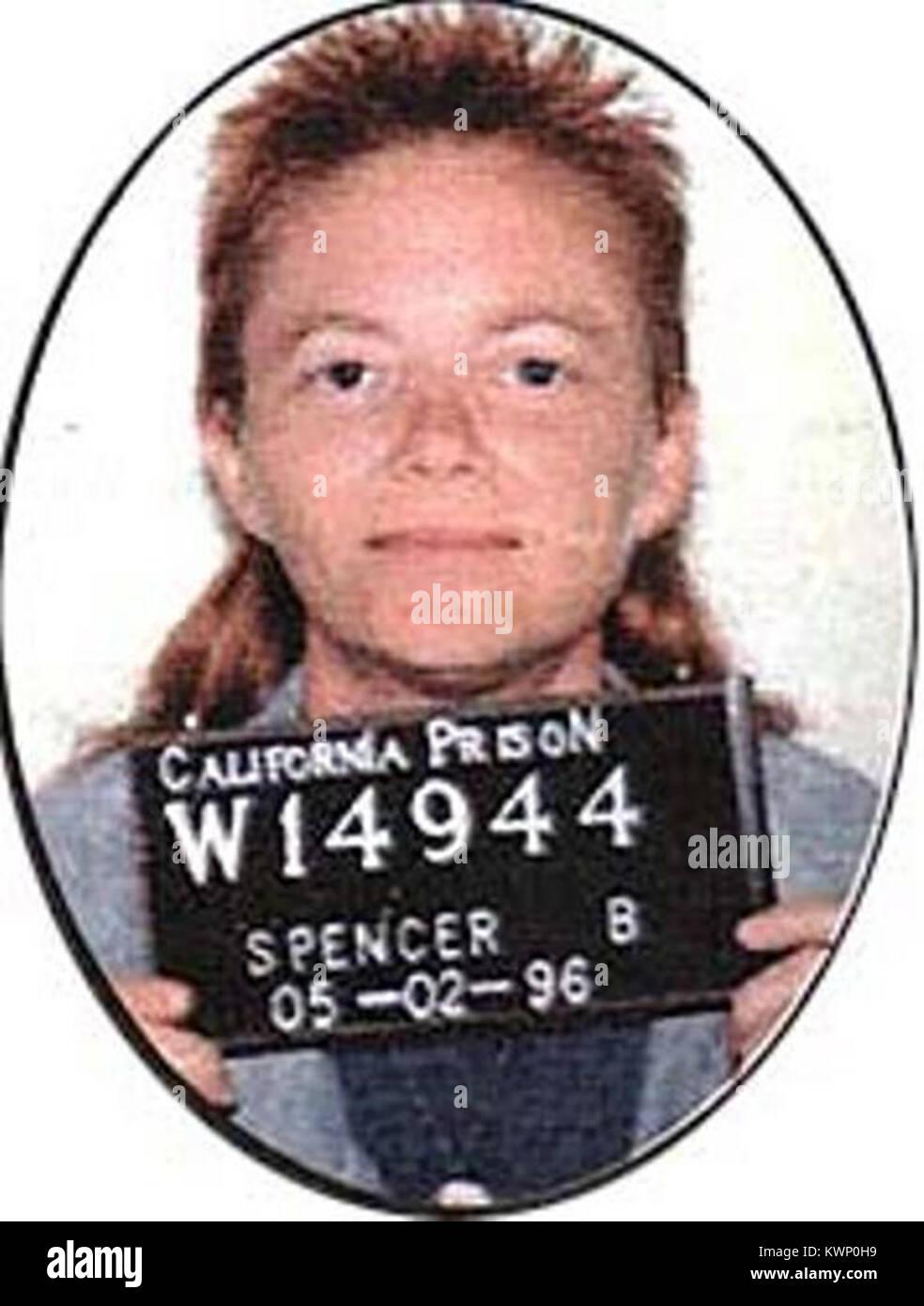 Brenda Ann Spencer, verpflichtet die Cleveland Elementary School shooting, 29. Januar 1979 Stockbild