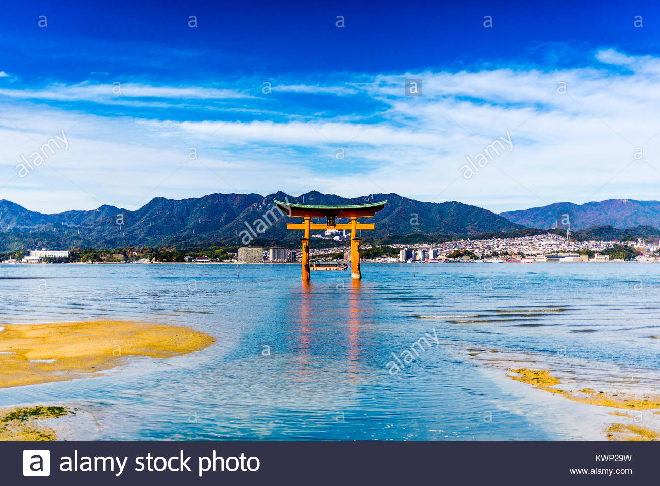 Otori Gate Stockbild