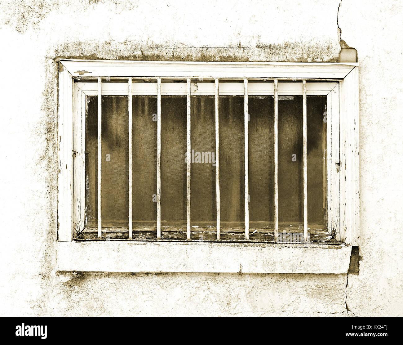 Führen Sie die äußere Keller Fenster in der Notwendigkeit der ...