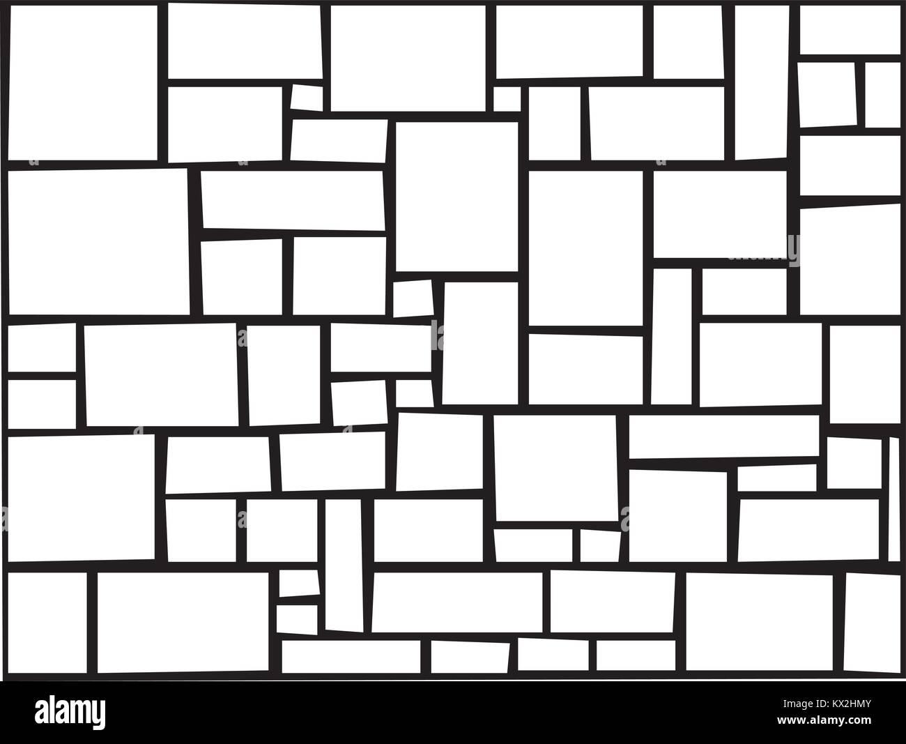 Verschiedene Stein Fliese Typ Textur Fur Bodenbelage Vektor