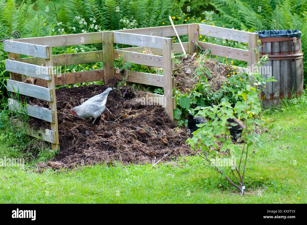compost farm stockfotos compost farm bilder alamy. Black Bedroom Furniture Sets. Home Design Ideas
