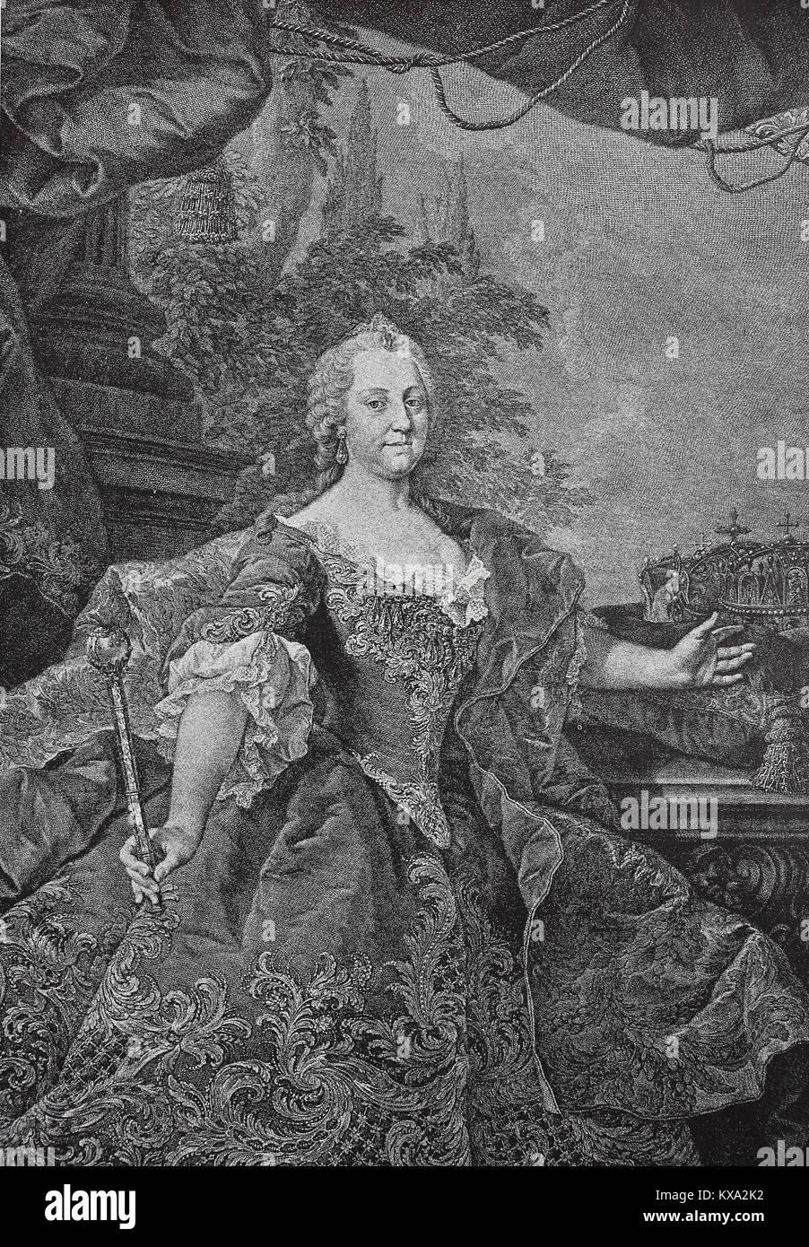 Maria Theresia Walburga Amalia Christina, 13. Mai 1717 - 29 ...