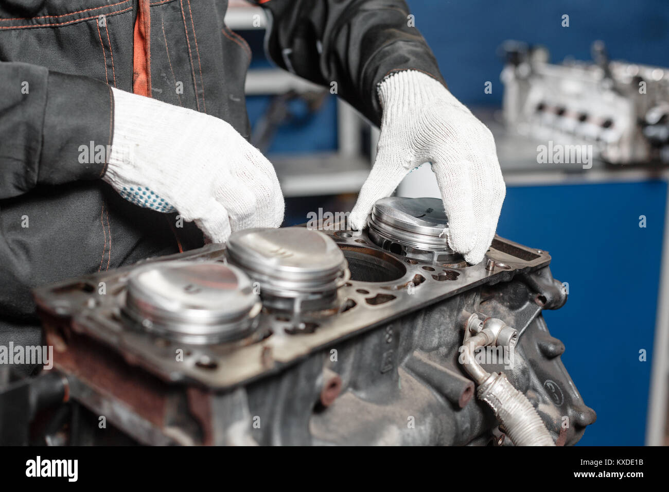 Piston Engine Metal Stockfotos & Piston Engine Metal Bilder - Alamy