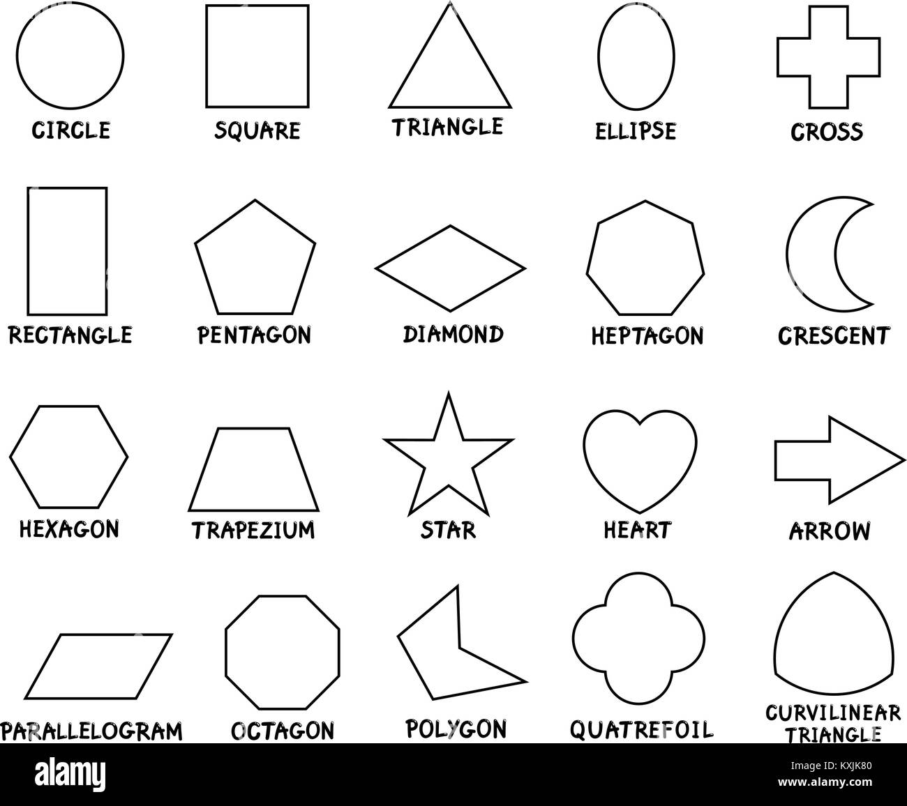 Ziemlich Malvorlagen Zum Ausdrucken Von Geometrie Ideen - Entry ...