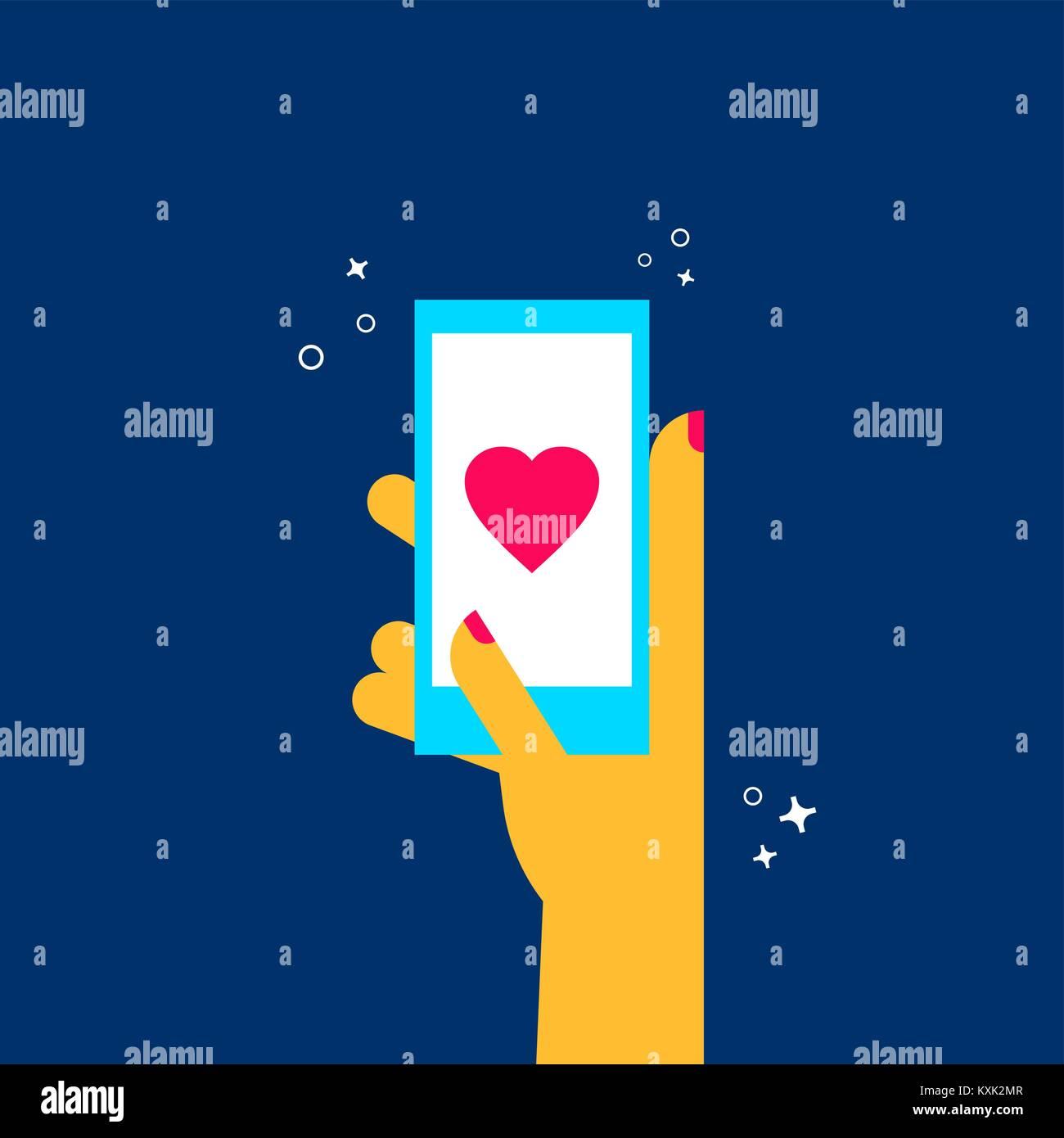 Telefon online dating app