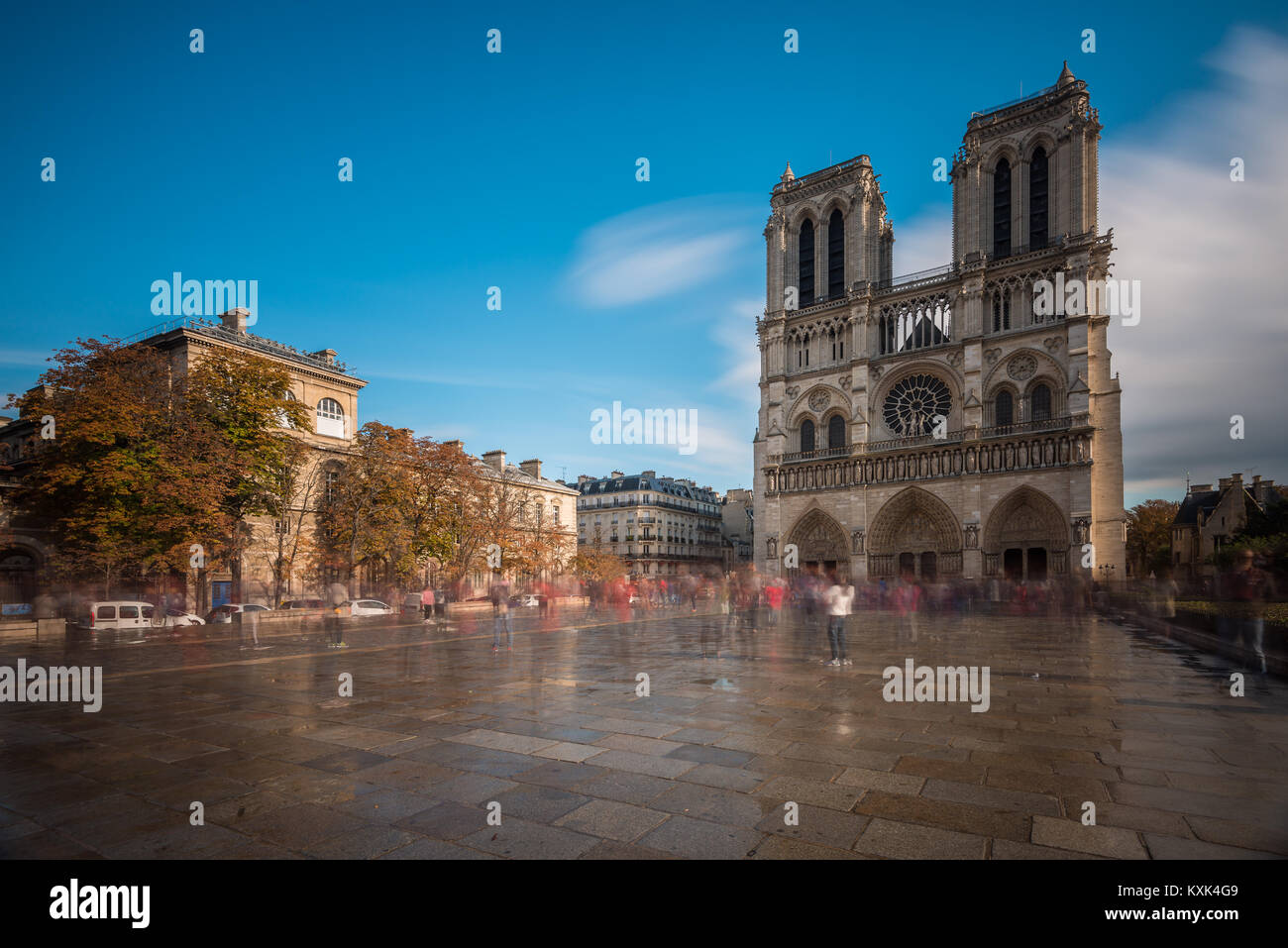 Cathédrale Notre-Dame de Paris, Notre Dame de Paris, Paris, Frankreich Stockbild