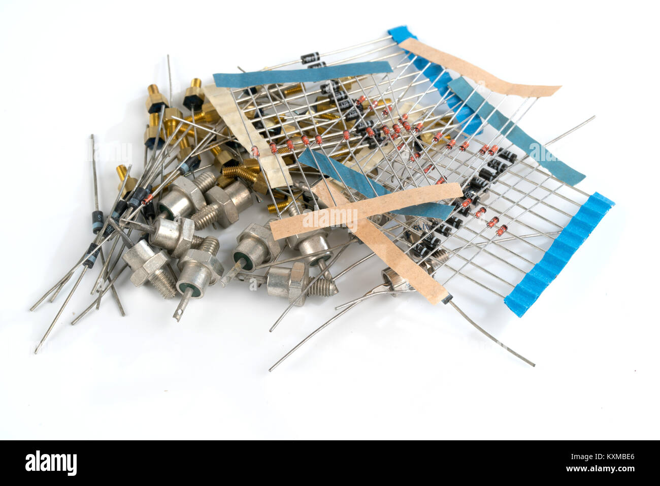Beste Verschiedene Elektronische Komponenten Und Ihre Symbole ...