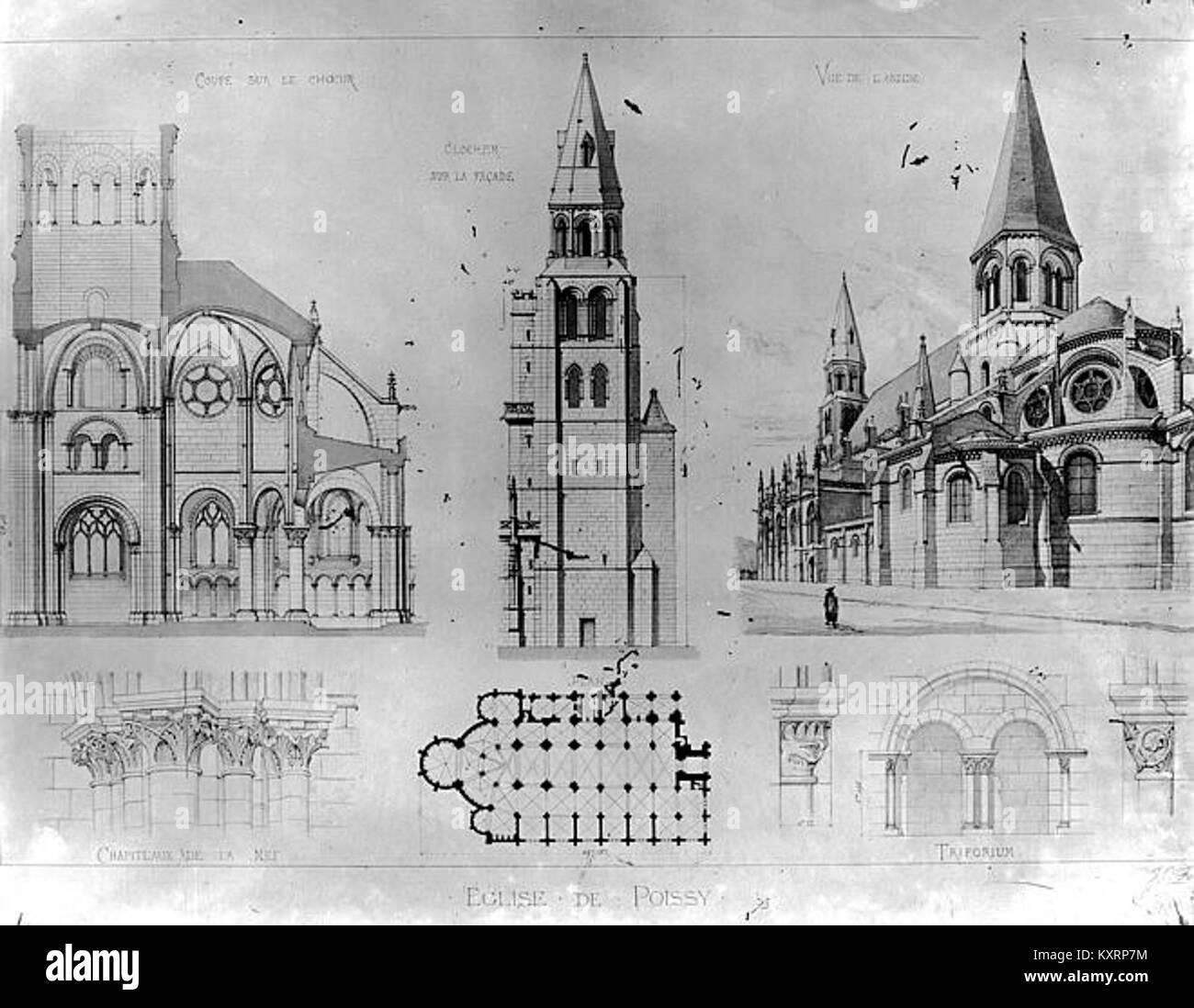 Notre Dame De Poissy Stockfotos Notre Dame De Poissy Bilder Alamy