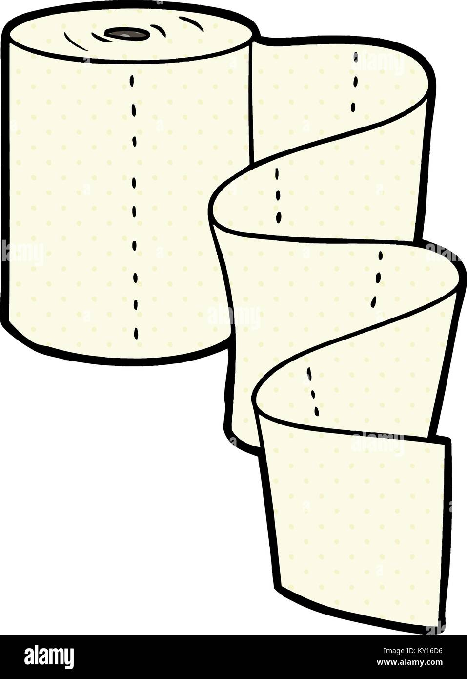 Cartoon Küche roll Vektor Abbildung - Bild: 171516050 - Alamy