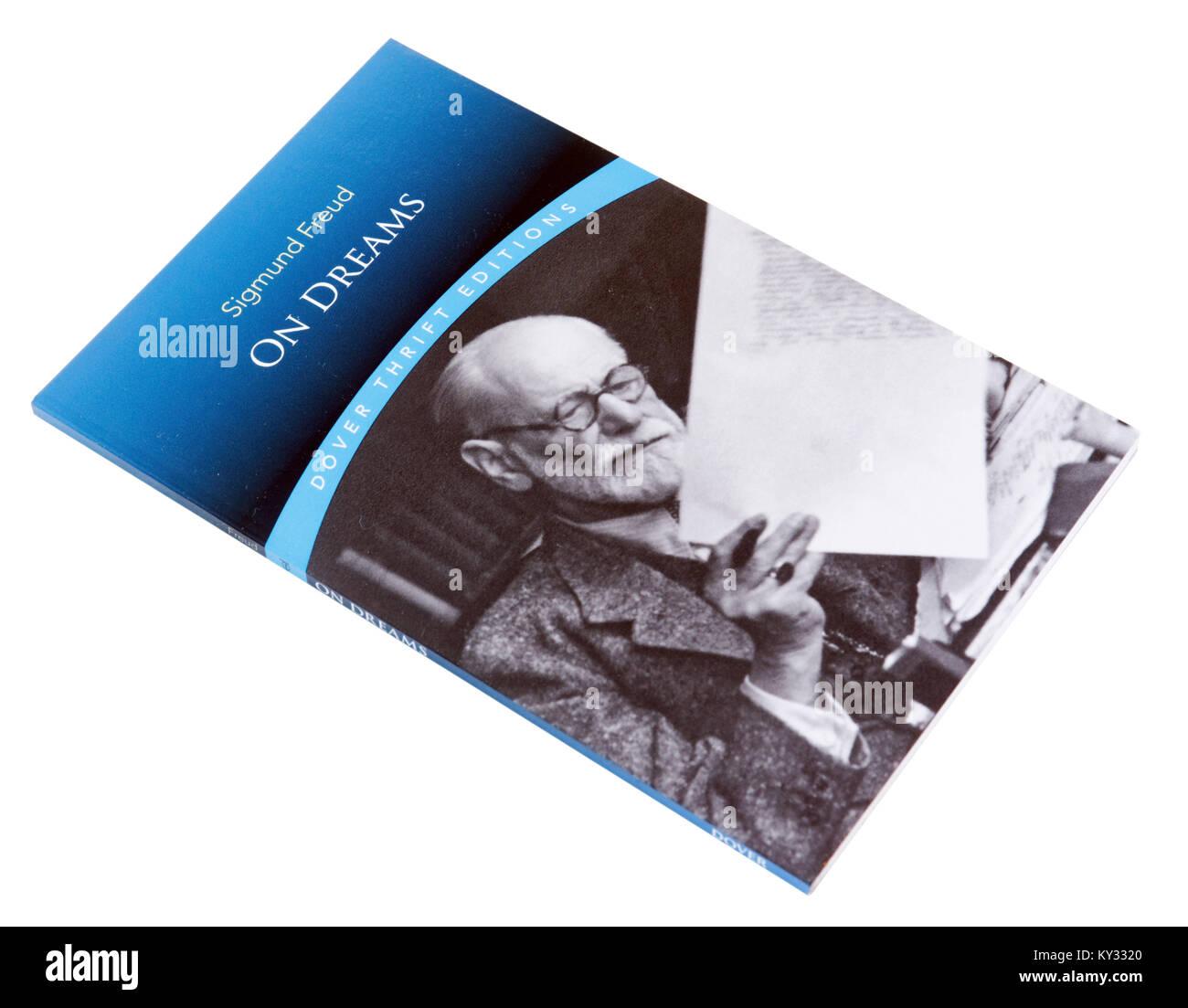 Über Träume von Sigmund Freud Stockbild