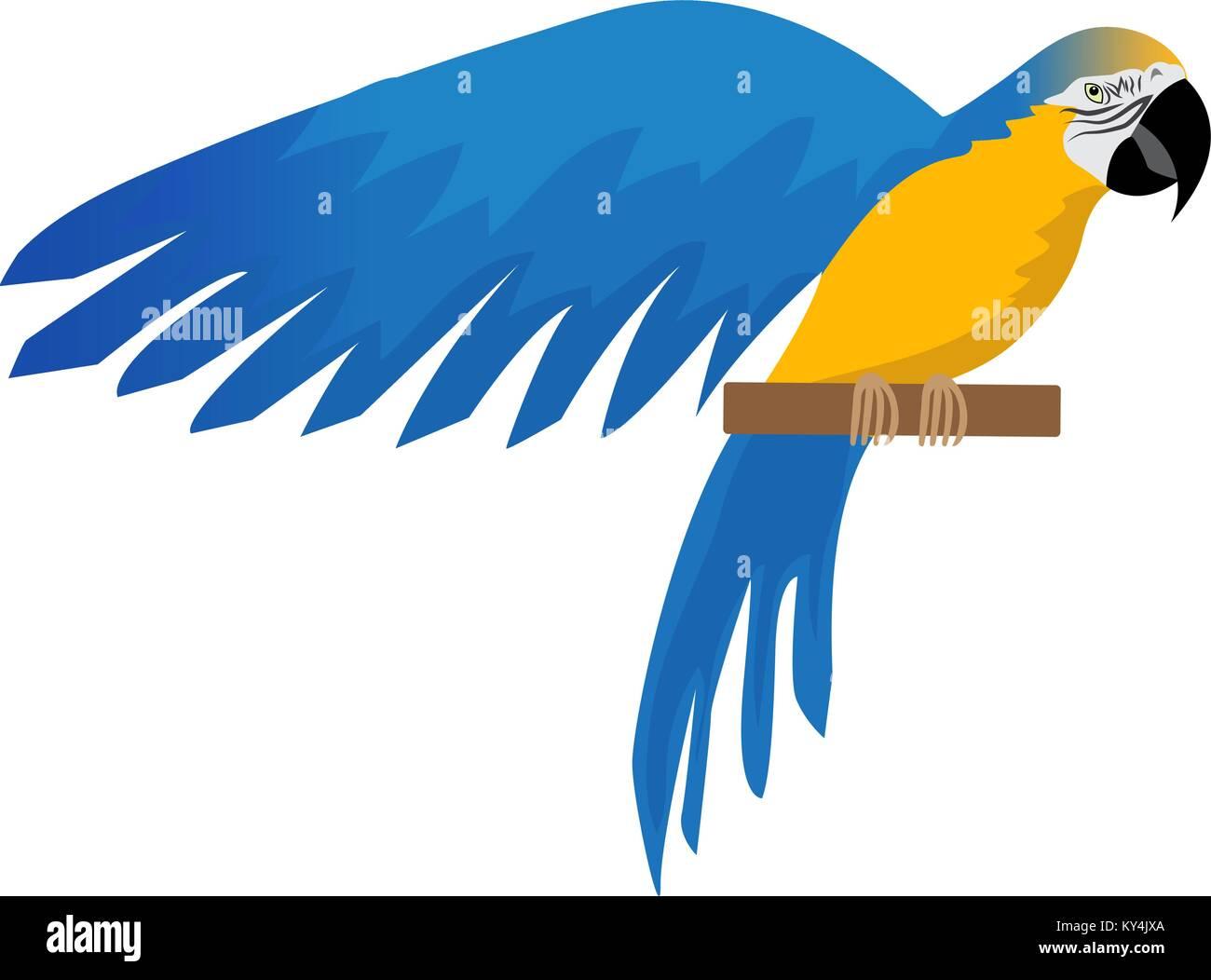 Nett Blaue Macaw Malvorlagen Zeitgenössisch ...