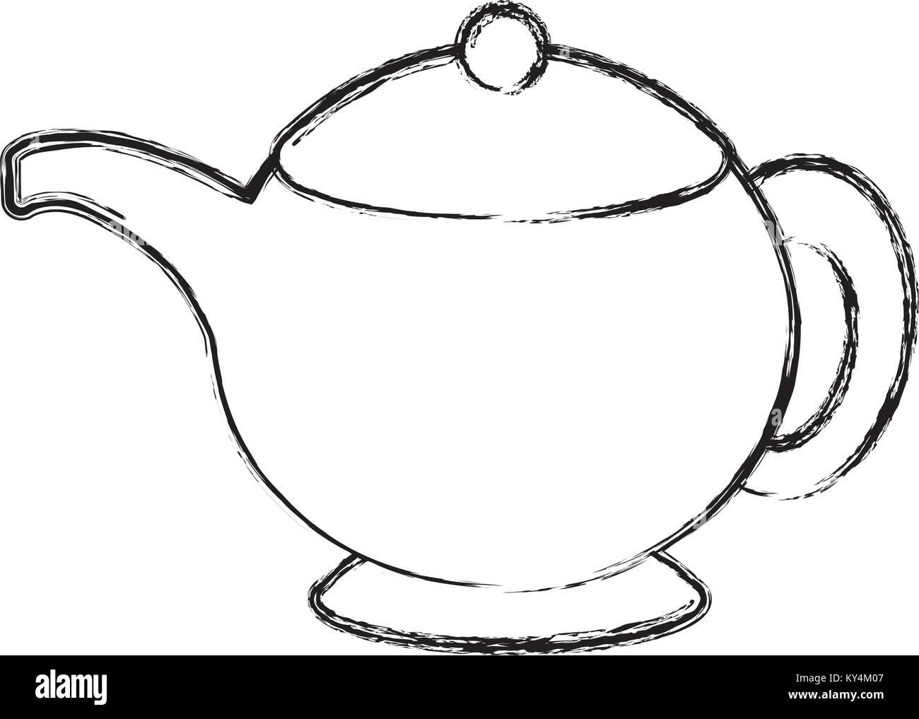 Cartoon Tea Pot Stockfotos Cartoon Tea Pot Bilder Alamy