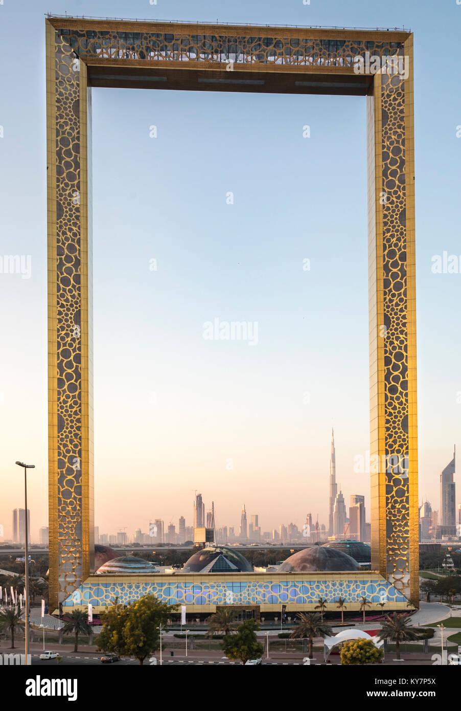Dubai Frame Stockfotos & Dubai Frame Bilder - Alamy