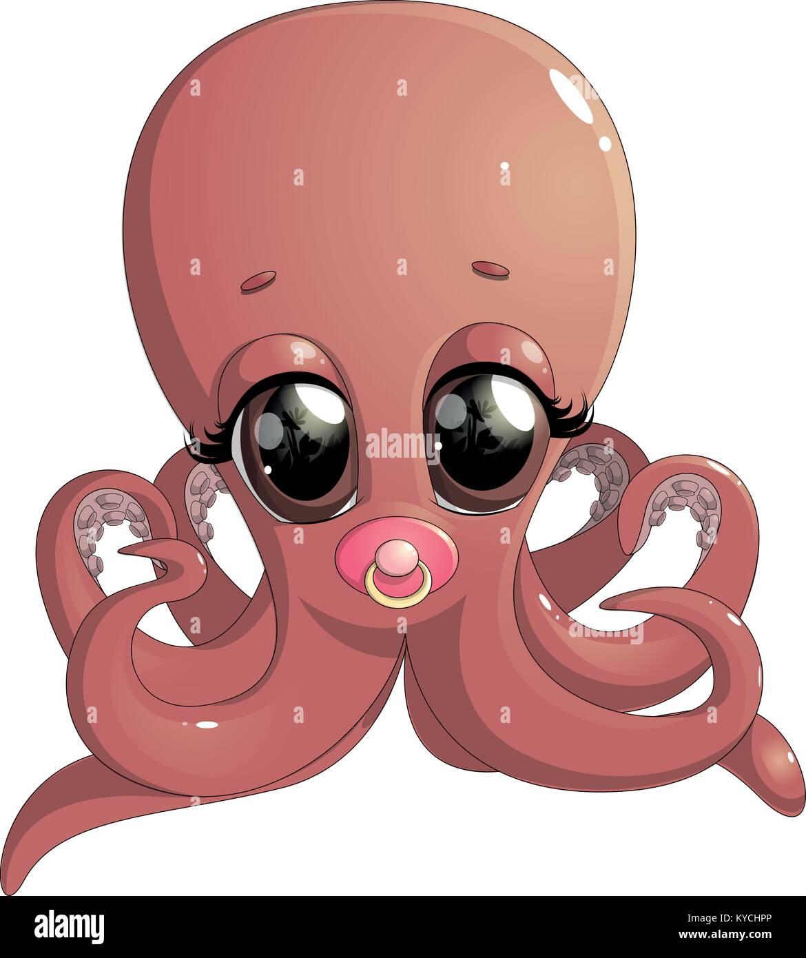 Berühmt Oktopus Malvorlagen Zum Ausdrucken Bilder - Beispiel ...