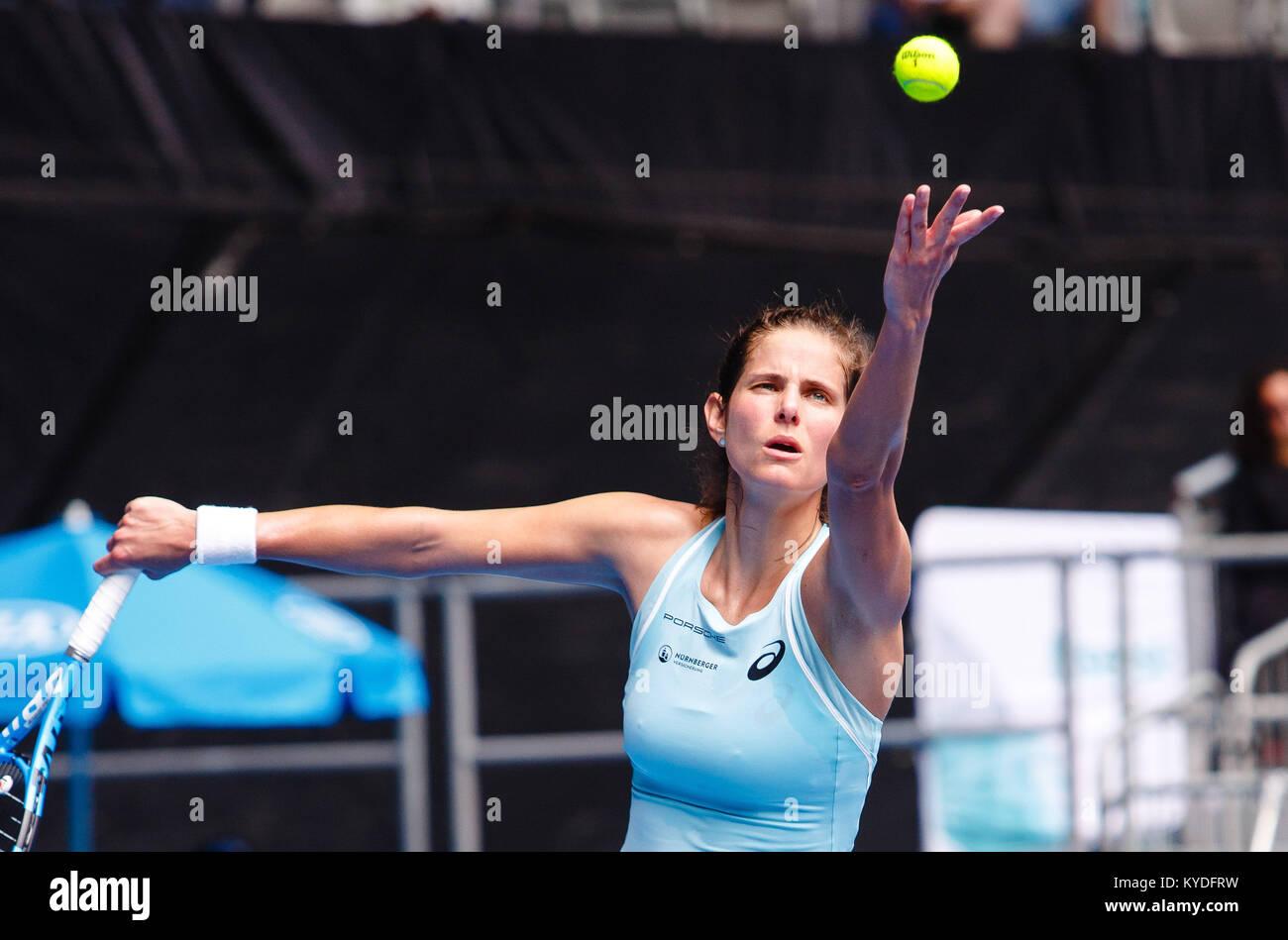 Melbourne Australien 15 Januar 2018 Deutsche Tennisspielerin